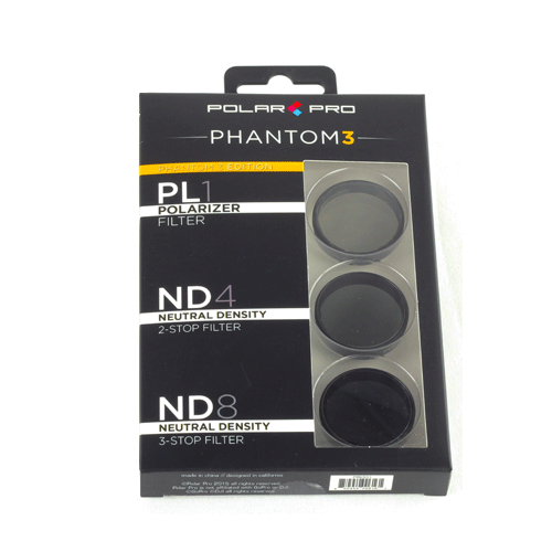 Polar Pro DJI Phantom 3 Filter - 3 Pack