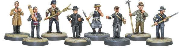Bolt Action Dad's Army Home Guard Platoon