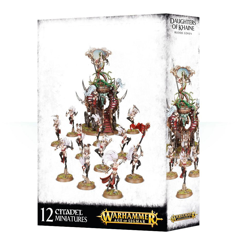 Warhammer Age of Sigmar Daughters of Khaine Blood Coven