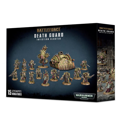 Warhammer 40K Battle Force Death Guard Infection Cluster