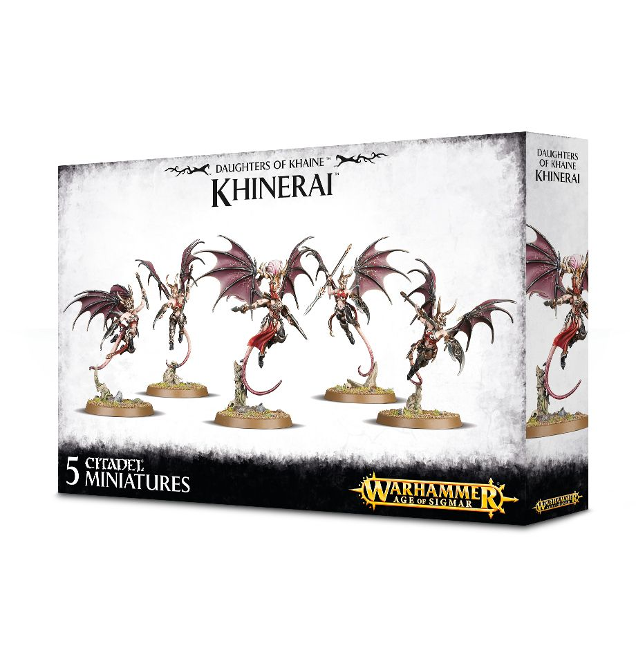 Warhammer Age of Sigmar Daughters of Khaine, Khinerai Lifetakers / Heartrenders