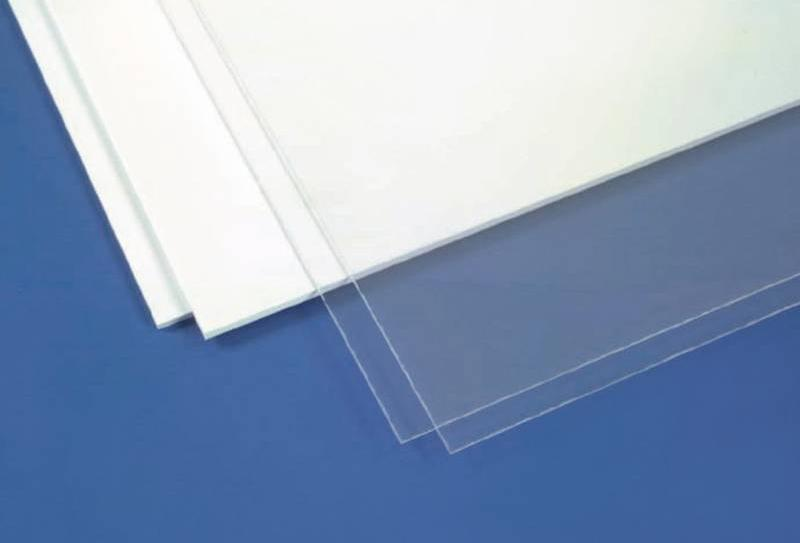 Evergreen 6x12in (15x30cm) White Sheet .040in Thick (2 Sheet per pack)