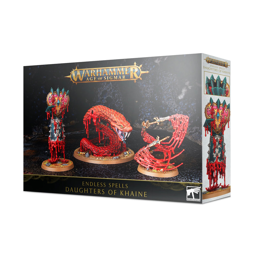 Warhammer Age of Sigmar Endless Spells: Daughters of Khaine