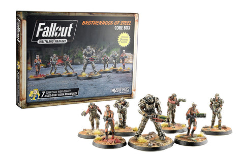 Fallout: Wasteland Warfare – Brotherhood Of Steel Core Box