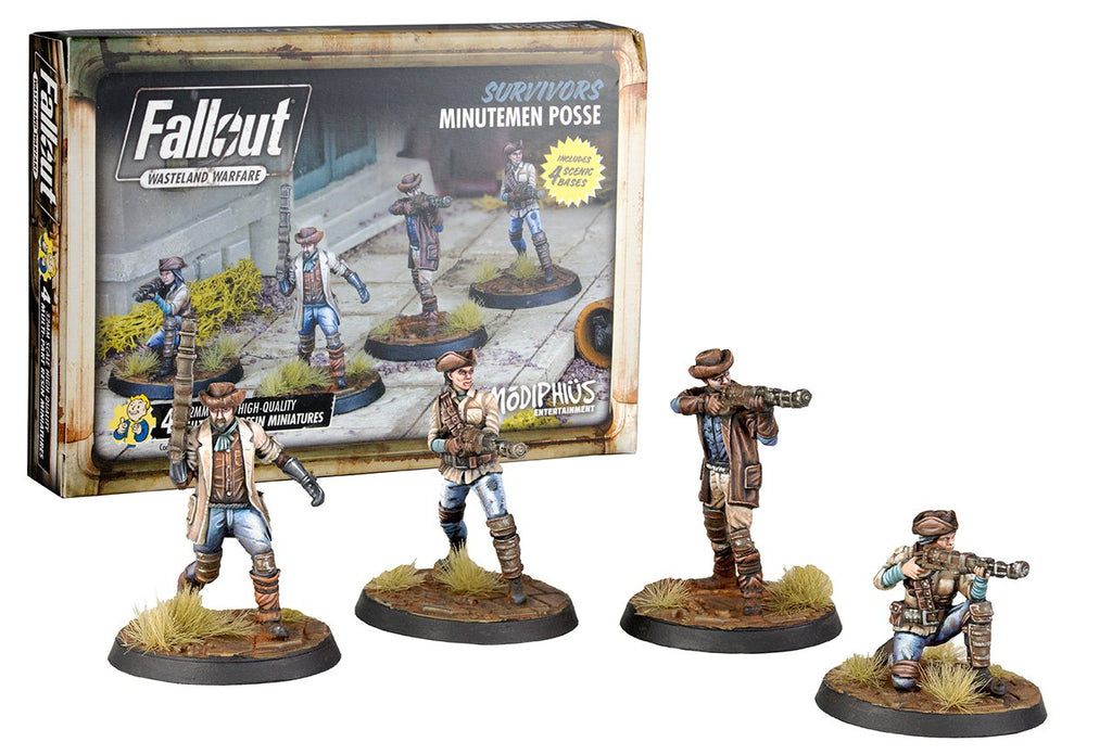 Fallout: Wasteland Warfare – Minutemen Posse