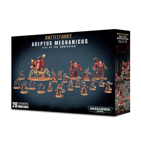 Warhammer 40K Battle Force Adeptus Mechanicus Fist of the Omnissiah