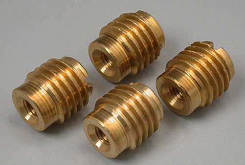 Great Planes 8-32 Brass Threaded Inserts