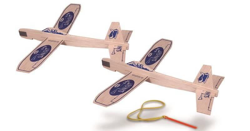 Guillows Slingshot Twin Pack Balsa Kit
