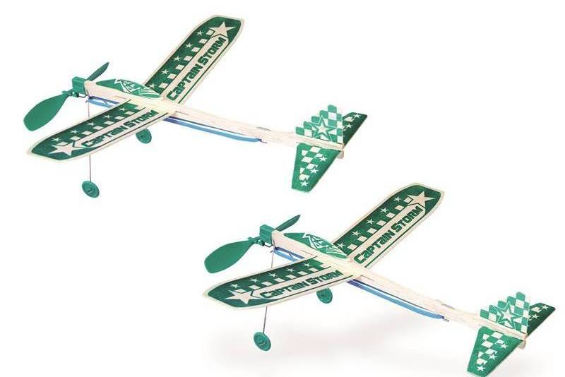 Guillows Captain Storm Twin Pack Balsa Kit