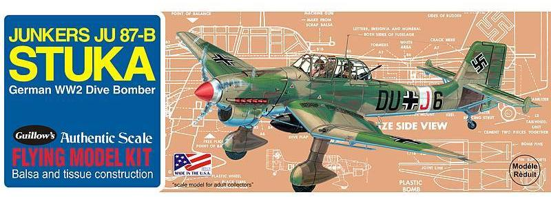 Guillows Stuka Balsa Kit