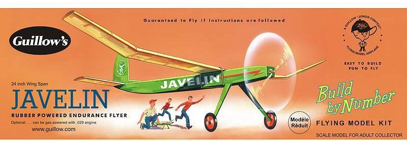 Guillows Javelin Balsa Kit