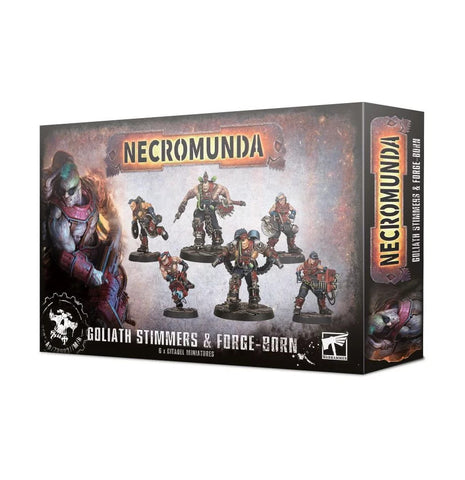 Necromunda: Goliath Stimmers and Forge-born