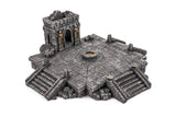 Gamemat.eu 28mm Gothic Temple Terrain Set for Warhammer, Age of Sigmar
