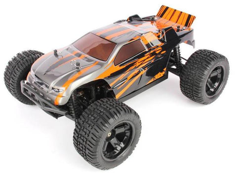 Haiboxing 1:10 RTR Electric 4WD Warhead Truggy (Orange)