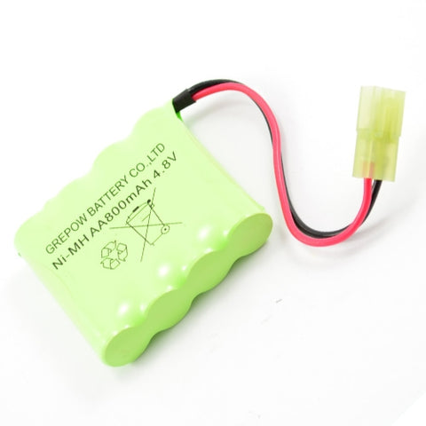 HOBBY ENGINE PACK 4.8V 800MAH MINI TAMIYA PLUG (HE00010)