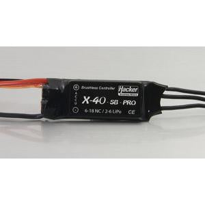 Hacker X-40 Pro Brushless Speed Controller