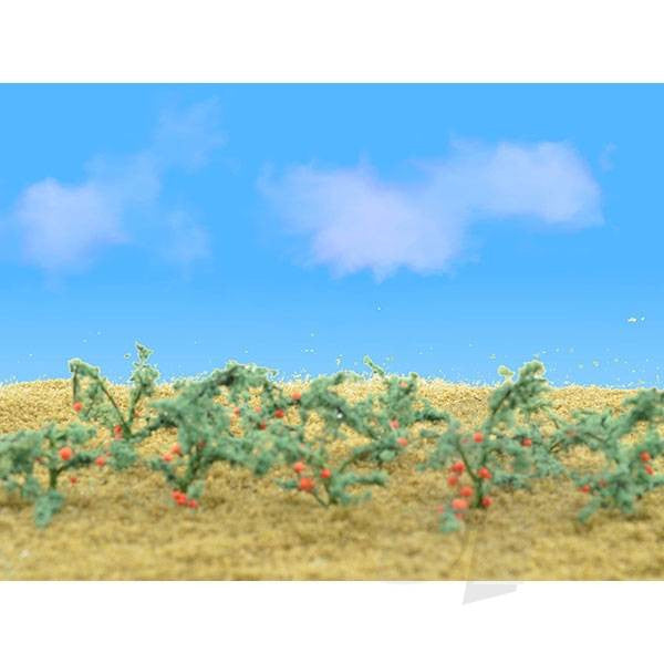 JTT 95525 Tomatoes, 3/4 Tall, HO-Scale, (18 per pack)