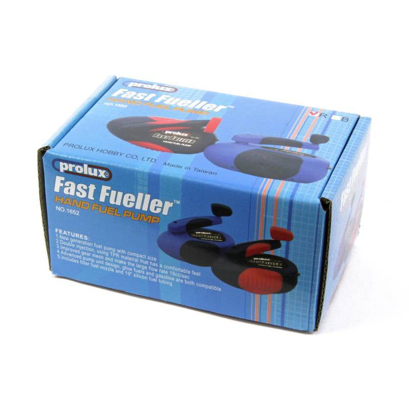 Prolux Fast Fueller Hand Pump (Blue) Gas and Glow