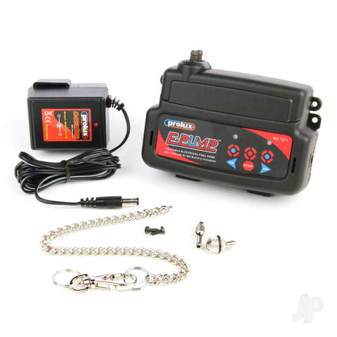 Prolux Electric Fuel Pump with Built-in Battery and UK Charger