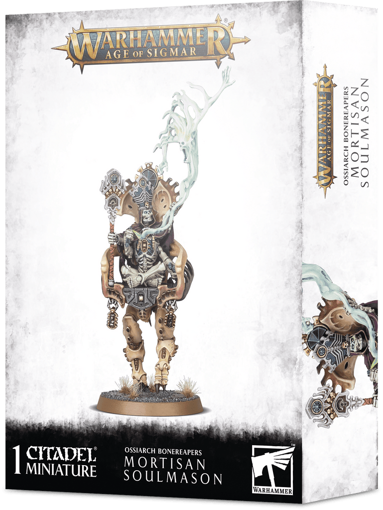 Warhammer Age of Sigmar Ossiarch Bonereapers Mortisan Soulmason