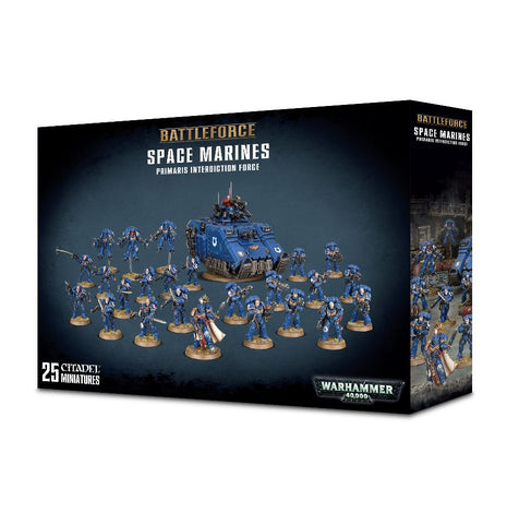 Warhammer 40K Battle Force Space Marine Primaris Interdiction Force