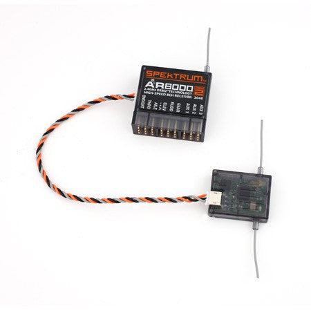 Spektrum 2.4Ghz DSM2/X AR8000 Telemetry Receiver
