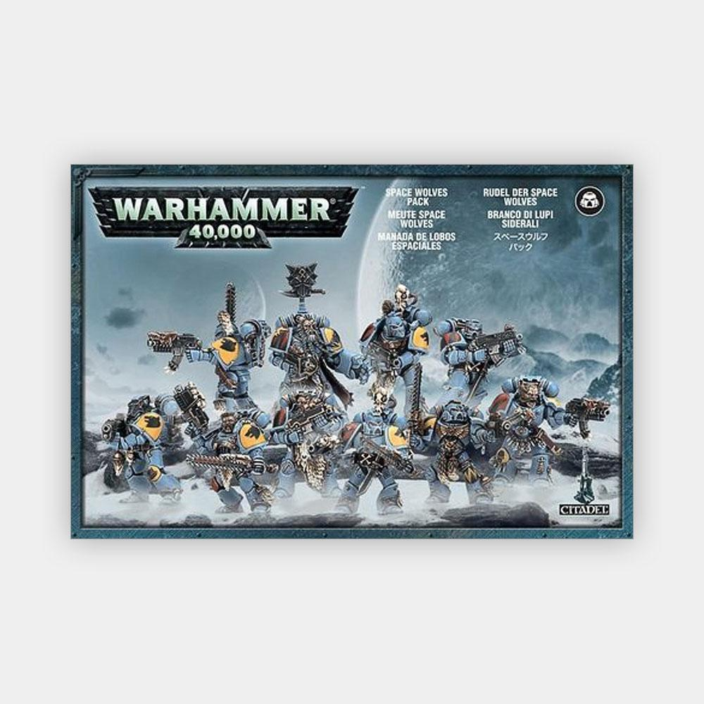 Warhammer 40K Space Wolves Blood Claws