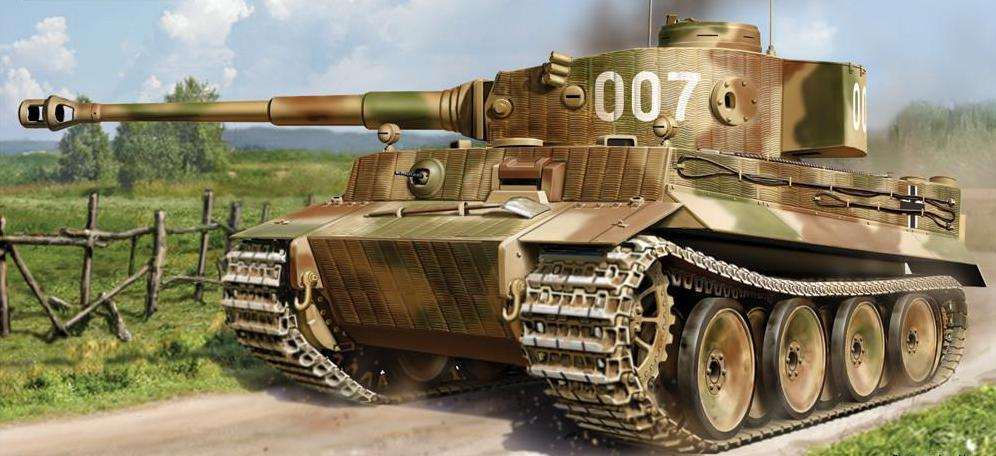 Bolt Action Tiger I Ausf. E Heavy Tank (Plastic)