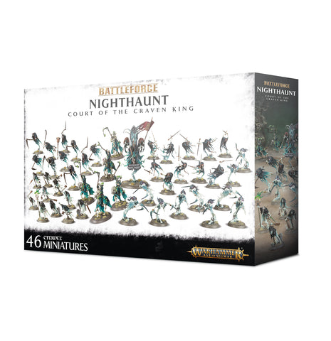 Warhammer Age Of Sigmar Battle Force: Nighthaunt Court of the Craven King