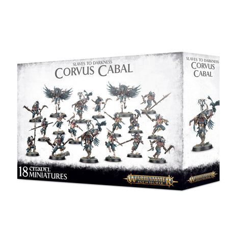 Warhammer Age of Sigmar Slaves to Darkness Corvus Cabal