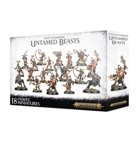 Warhammer Age of Sigmar Slaves to Darkness Untamed Beasts