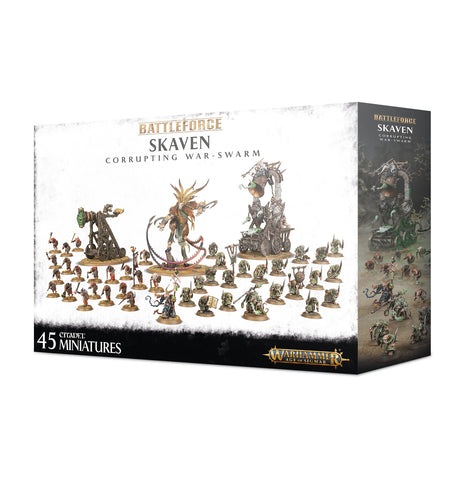 Warhammer Age Of Sigmar Battle Force: Skaven Corrupting War-swarm