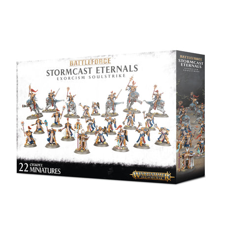 Warhammer Age Of Sigmar Battle Force: Stormcast Eternals Exorcism Soulstrike