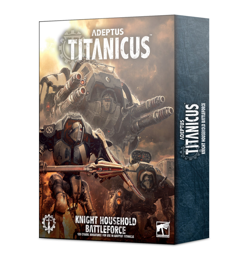 Adeptus Titanicus Knight Household Battleforce