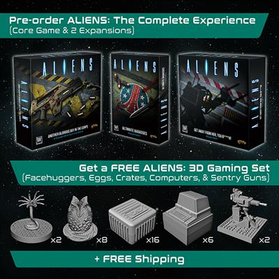 GF9 Aliens Set, Aliens: The Complete Experience