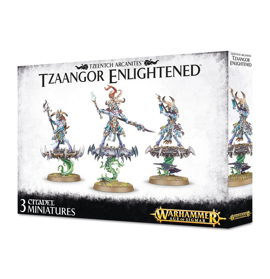 Warhammer 40K Tzaangor Enlightened