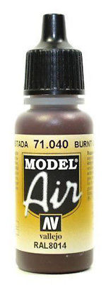 Vallejo Model Air - Burnt Umber