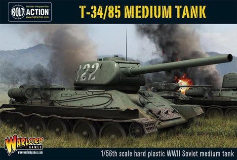 Bolt Action T-34/85 Medium Tank (Plastic)