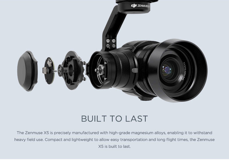 DJI Zenmuse X5 Series Camera / Gimbal for DJI Inspire 1