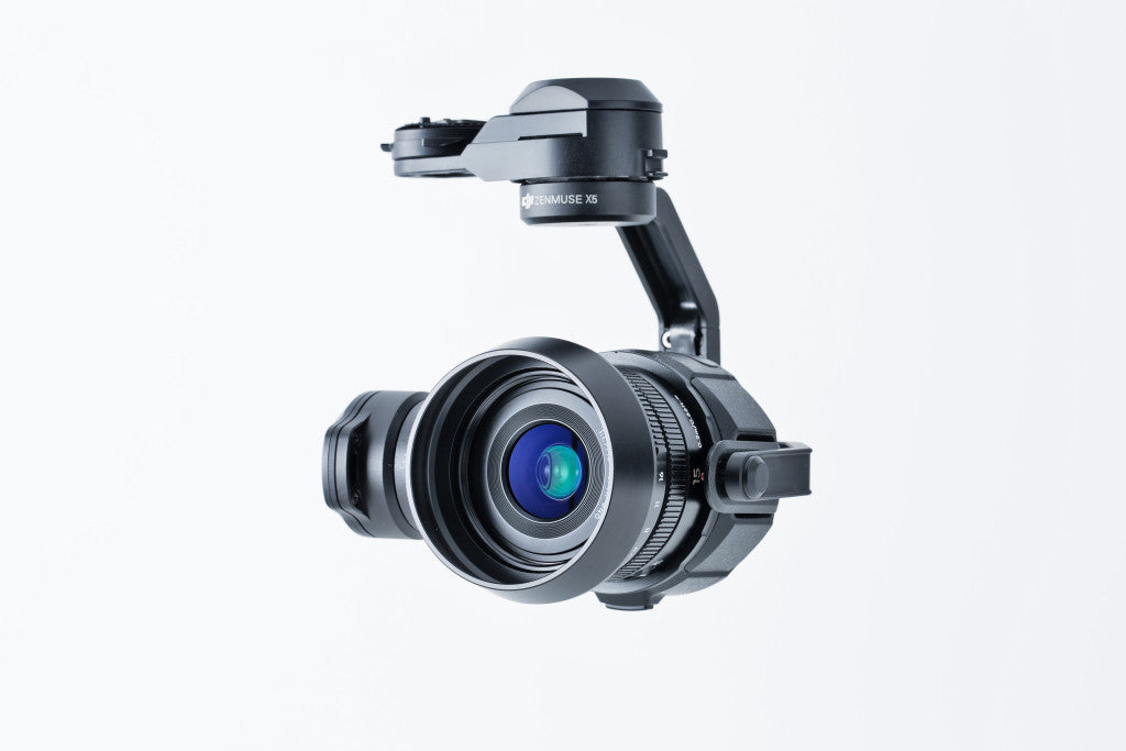 DJI Zenmuse X5 Part 1 - Gimbal and Camera (Lens Excluded) for Inspire 1