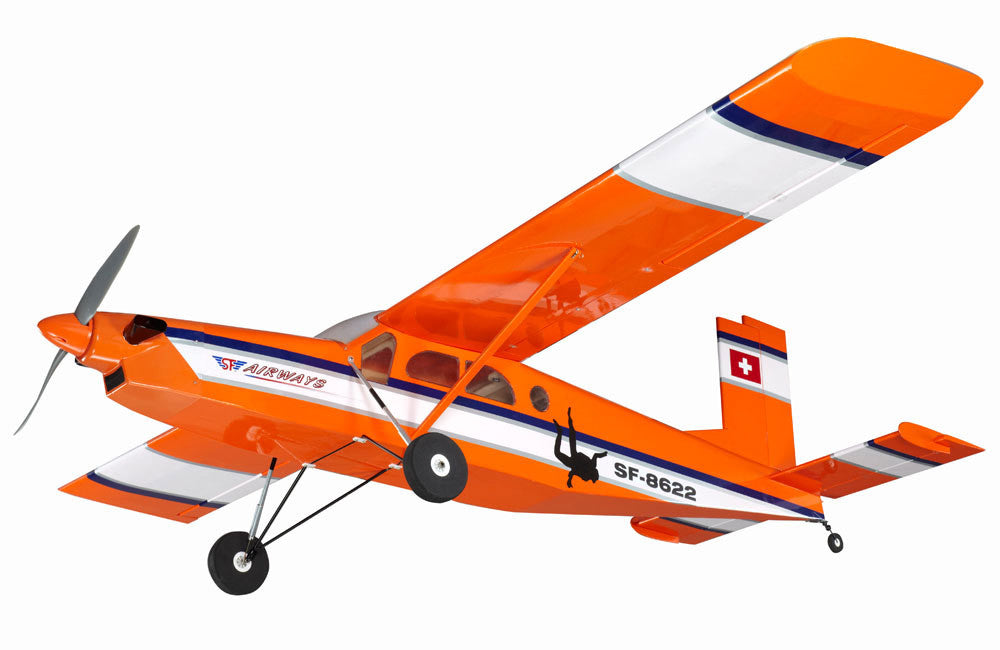 Super Flying Model Pilatus PC-6 GP/EP ARTF