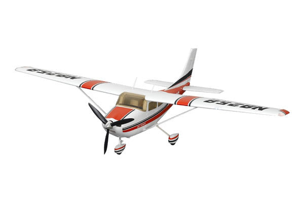 FMS CESSNA 182 RTF W/2.4GHZ 1400MM SPAN - NEW MK2 (RED)