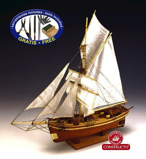 Constructo Gjoa - Amundsen Expedition Ship 1:64