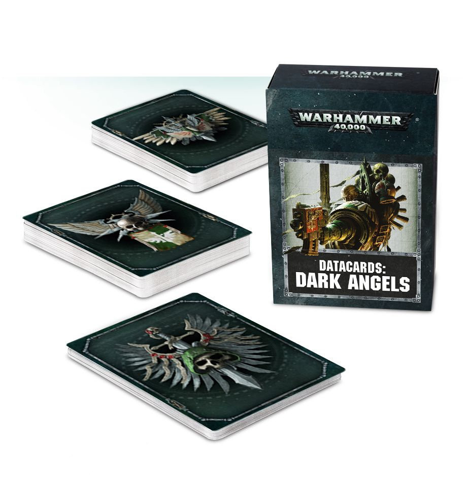 Warhammer 40K Datacards: Dark Angels