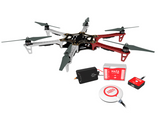 DJI F550 with Naza Light flight controller with GPS