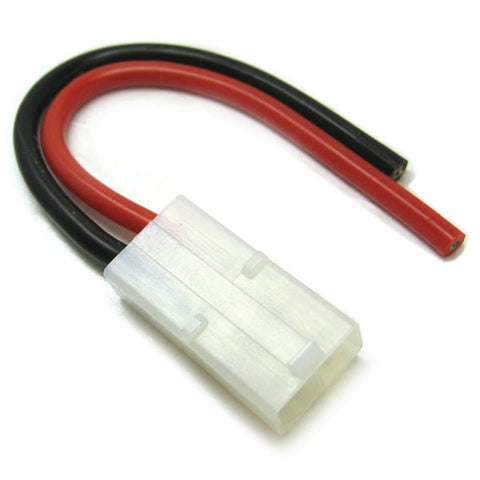 Etronix Female Tamiya Connector with 10cm 14AWG Silicone Wire.