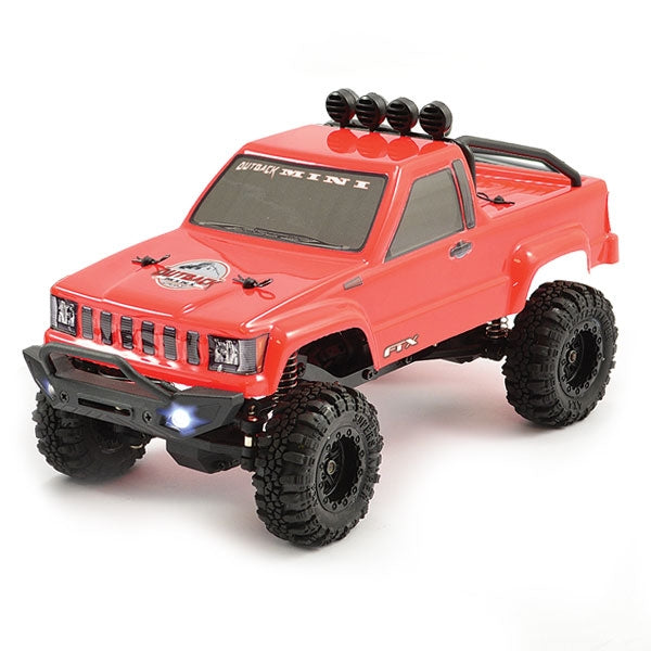 FTX Outback Mini 1:24 Trail Crawler (Red) - RTR