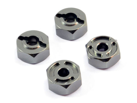 FTX Sidewinder Aluminium Wheel Hex (4PC)