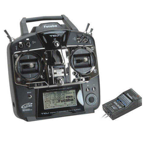 Futaba T10J 10 Channel 2.4GHz Radio with R3008SB Receiver Combo Set