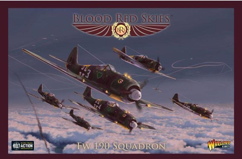 Blood Red Skies German BF-109E Squadron
